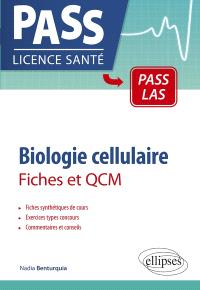 Biologie cellulaire : fiches et QCM
