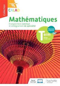 Mathématiques terminale séries STI2D, STL : enseignement commun et enseignement de spécialité : nouveau programme
