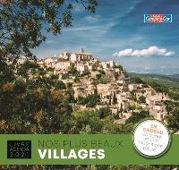 Nos plus beaux villages : livre agenda 2021