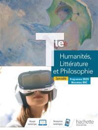 Humanités, littérature et philosophie terminale, enseignement de spécialité : programme 2020, nouveau bac