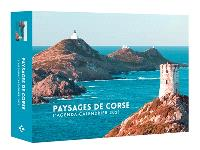 Paysages de Corse : l'agenda-calendrier 2021