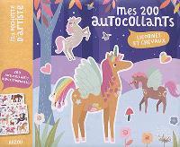 Licornes et chevaux : mes 200 autocollants