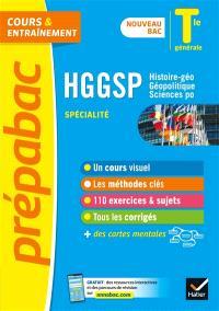 HGGSP, histoire géo, géopolitique, sciences po spécialité, terminale générale : nouveau bac