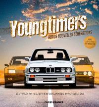 Youngtimers : autos nouvelles générations : voitures de collection des années 1970-1980-1990