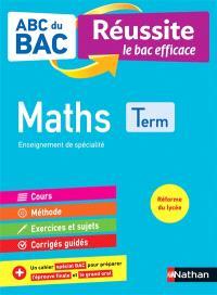 Maths terminale : enseignement de spécialité : réforme du lycée
