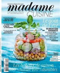 Madame Figaro cuisine, hors série. n° 7, Bon, beau & bio : 100 % nature