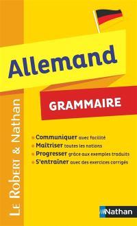Allemand, grammaire