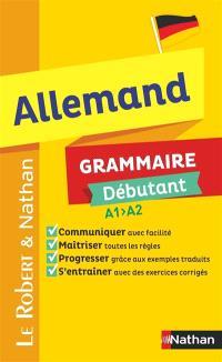Allemand, grammaire débutant A1-A2