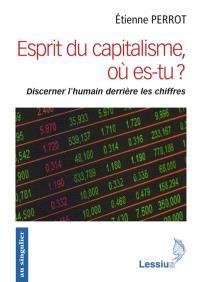 Esprit du capitalisme, es-tu là ? : discerner l'humain derrière les chiffres