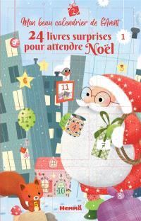 Mon beau calendrier de l'Avent : 24 livres surprises pour attendre Noël