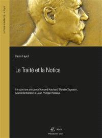 Le traité et la notice : relire Fayol avec Fayol