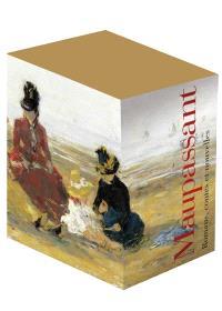 Coffret Pléiade Maupassant 3 volumes