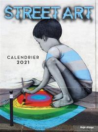 Street art : calendrier 2021