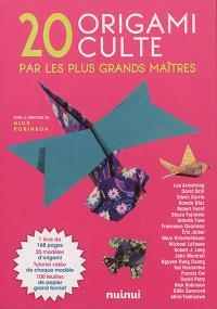20 origami culte par les plus grands maîtres