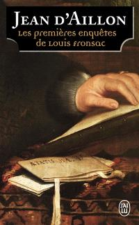 Les enquêtes de Louis Fronsac, Les premières enquêtes de Louis Fronsac