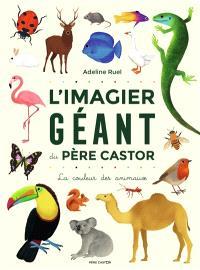 L'imagier géant du Père Castor : la couleur des animaux