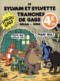 Sylvain et Sylvette. Volume 52, Tranches de gags !