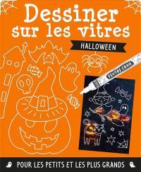 Dessiner sur les vitres : Halloween