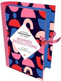 Bonnes résolutions : 30 cartes pour garder le cap