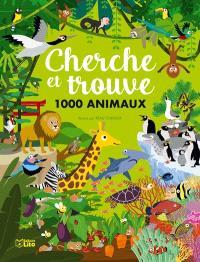 Cherche et trouve 1.000 animaux