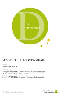 Le contrat et l'environnement
