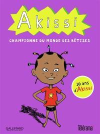 Coffret Akissi : championne du monde des bêtises