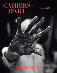Cahiers d'art. n° 1 (2020), Christo
