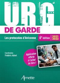 Urg' de garde 2021-2022 : les protocoles d'Avicenne