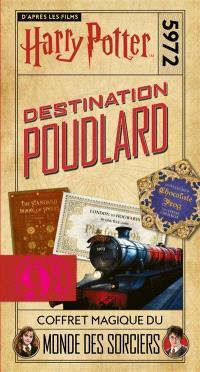 Destination Poudlard, Harry Potter : platform 9 3-4 : coffret magique du monde des sorciers