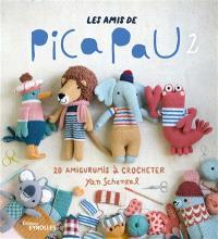 Les amis de Pica Pau : 20 amigurumis à crocheter. Volume 2
