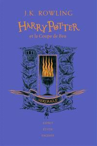 Harry Potter. Volume 4, Harry Potter et la coupe de feu : Serdaigle : esprit, étude, sagesse