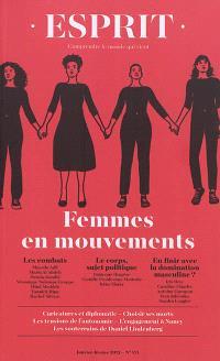 Esprit. n° 471, Femmes en mouvements