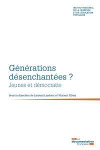 Générations désenchantées ? : jeunes et démocratie