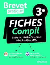 Fiches compil 3e : français, maths, sciences, histoire géo EMC