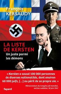 La liste de Kersten : un Juste parmi les démons