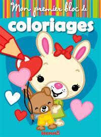 Mon premier bloc de coloriages : lapins