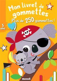 Koala : mon livret de gommettes : plus de 250 gommettes !