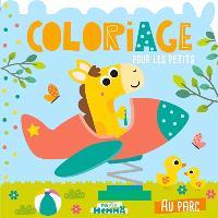 Au parc : coloriage pour les petits