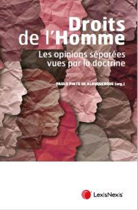 Droits de l'homme : les opinions séparées vues par la doctrine