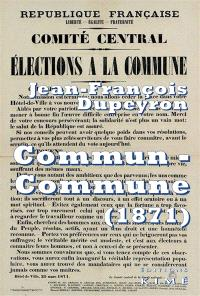 Commun-Commune : penser la Commune de Paris (1871)