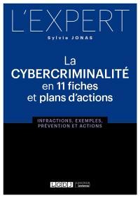 La cybercriminalité en 11 fiches et plans d'actions : infractions, exemples, prévention et actions