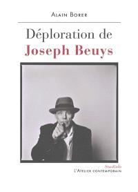 Déploration de Joseph Beuys