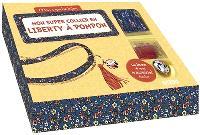 Mon super collier en liberty à pompon