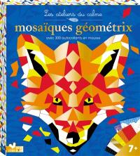Mosaïques géométrix : avec 300 autocollants en mousse