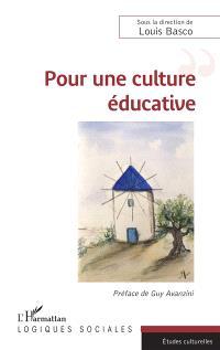 Pour une culture éducative