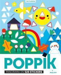 Les 4 saisons : panorama en 520 stickers