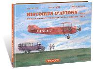 Histoires d'avions, Volume 5, Avions de transports commerciaux civils et militaires. Volume 3
