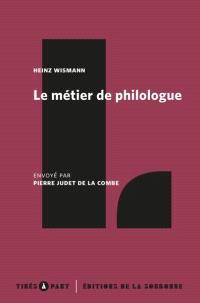 Le métier de philologue