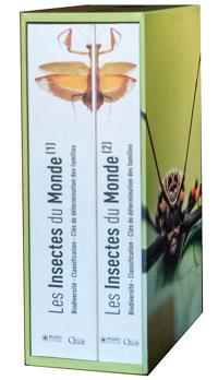 Les insectes du monde : biodiversité, classification, clés de détermination des familles : coffret 2 tomes