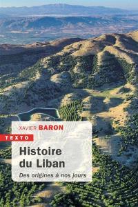 Histoire du Liban : des origines à nos jours